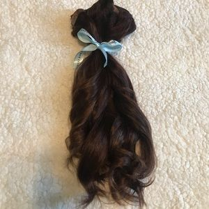 16 Inch Hair Extensions Brown